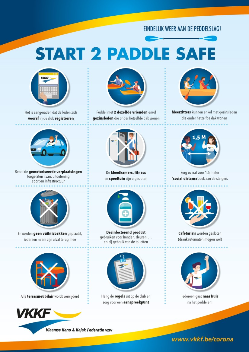 Start To Paddle Safe